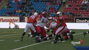Injury depleted Stampeders set to take on Blue Bombers