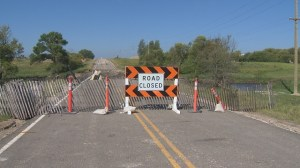 Repeated rainfall taking its toll on Southwestern Manitoba roads