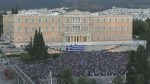 Thousands gather outside Greek parliament to protest austerity