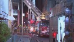 6 people injured in overnight downtown fire