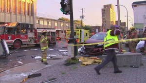 RAW: East end accident
