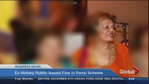 BIV: Ex-notary public issued fine in Ponzi scheme