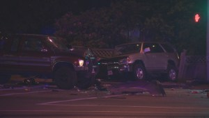 Two killed in Surrey car crash