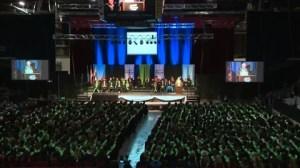 Lethbridge College convocation returns to Enmax Centre