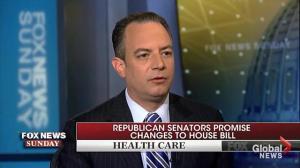 Trump administration set for showdown with Senate over 'Trumpcare'
