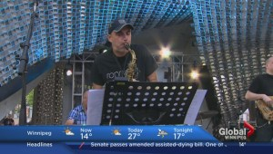 Steve Kirby previews his new orchestra on Global News Morning