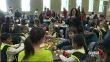 Generations' food and toy drive kicks off