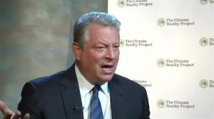 Al Gore optimistic that progress can be made at Paris climate conference