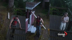 Cabin arson suspects caught on tape