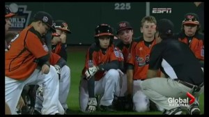 Little league coach's inspiring pep talk