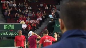 Canada disqualified from Davis Cup after Denis Shapovalov hits umpire with the ball
