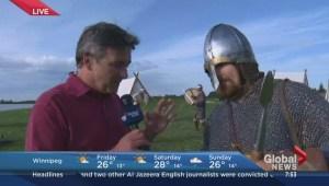 Icelandic village pops up for festival in Gimli, Manitoba