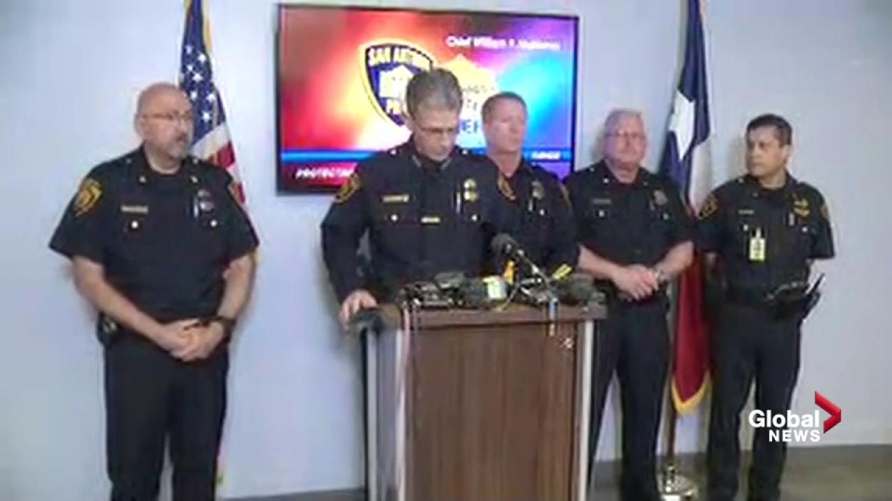 Suspect Arrested In Ambush Killing Of San Antonio Police Officer