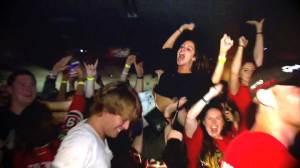 Blackhawks fans celebrate Stanley Cup win