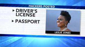 Leslie Jones' website hacked, nude photos and personal info released