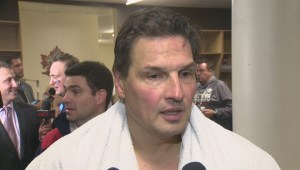 RAW: Winnipeg Jets Alumni Eddie Olczyk