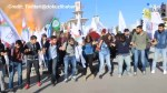 Moment of blast at Turkey protest caught on camera