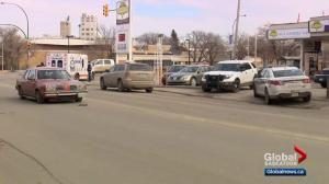 Saskatoon police officer struck by vehicle injured