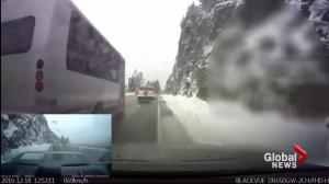 Dangerous driving on Sea-to-Sky Highway caught on camera