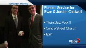 Funeral for Jordan and Evan Caldwell on Thursday