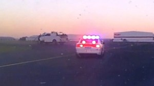 1 dead after driver in stolen trucks leads police onto airport runway, into oncoming traffic