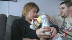 Ontario mother urges province to help cover cost of expensive prescription formula for baby