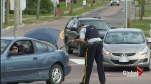 Police arrested man suspected of killing three Mounties in Moncton