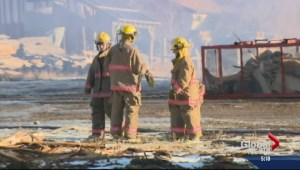Enderby fire fighter's death ruled accidental