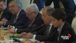 Russia's Lavrov meets US counterpart Tillerson in Moscow
