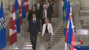 Trudeau and Notley meet in Edmonton