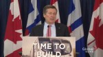 Tory on city council approval of road tolls for DVP, Gardiner Expressway