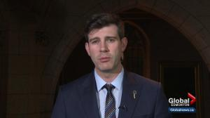 Edmonton Mayor Don Iveson reacts to federal budget