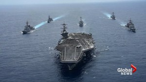 U.S. doubles down with second carrier group in waters off Korean peninsula