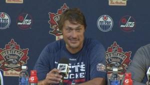 RAW: Winnipeg Jets Alumni Post Game Media Conference