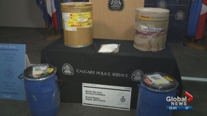 Record amount of drug 'super buff' seized by Calgary police