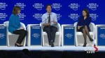 Trudeau discusses gender equality on final day of World Economic Forum