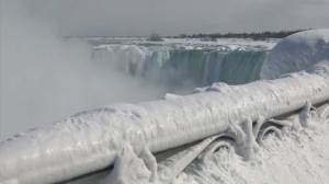 Lots of ice but Niagara Falls not frozen, here's why