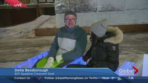 Bessborough Gardens transforms into winter wonderland