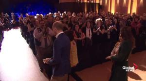 Prince William and Kate greeted by round of applause in Yukon
