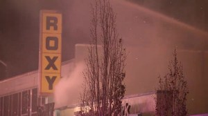 RAW: Roxy Theatre fire