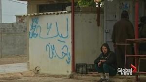 Soldiers' graffiti in Iraq's Mosul angers Sunni Muslims