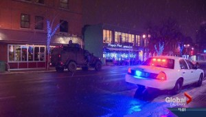 Bank heist at Bank of Montreal in downtown Calgary