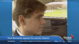 Paul Bernardo applies for day parole in Toronto area