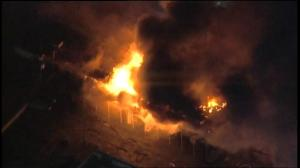 Fires continue to rage in Ferguson