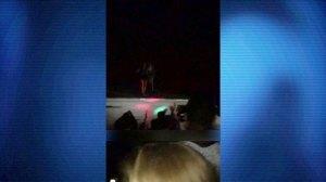 Massachusetts student caught on camera pushing female off roof