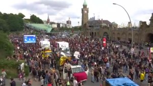 Protests takeover Hamburg as Trudeau, world leaders arrive for G20 summit