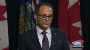 Lower than expected revenues forces Alberta government to tweak fiscal plan