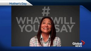 Mother's Day memories shared in emotional #whatwillyousay video