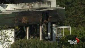 Early morning fire destroys club house at Ledgeview Golf Course
