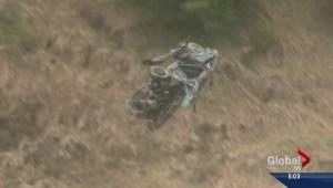 Fatal Okanagan car crash wreckage removed from canyon